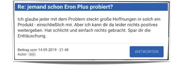 eron plus before forum erfahrung bewertung test