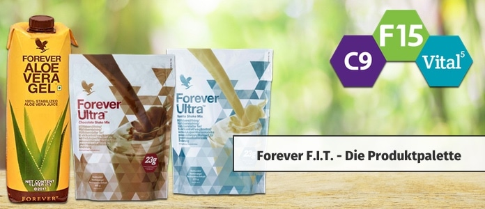 forever fit produkte supplements