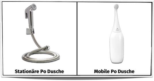 po dusche stationär mobil